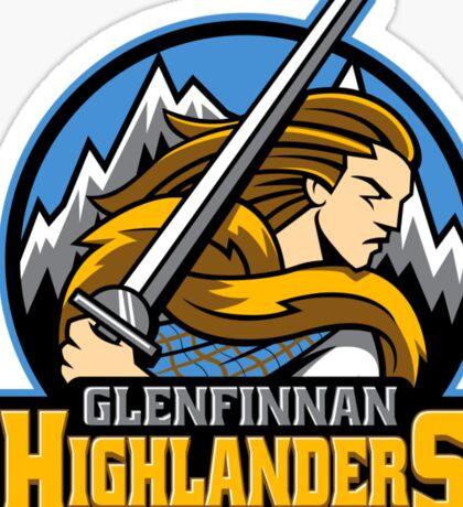Highlander Sports Logo Sticker