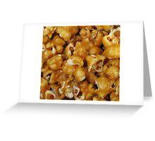 Salted Caramel Popcorn Greeting Card