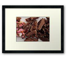 Marshmallow & Chocolate  Framed Print