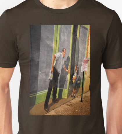 Door to Nowhere.. Unisex T-Shirt