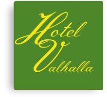 Hotel Valhalla Canvas Print