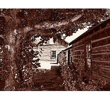 Nevada City Sepia 2 (Montana, USA) Photographic Print