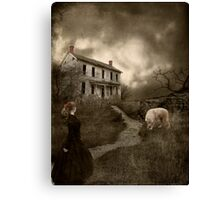 Where The Story Ends... Canvas Print