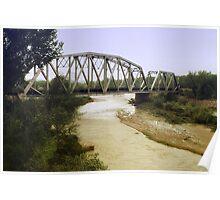 Rail Road Bridge Poster