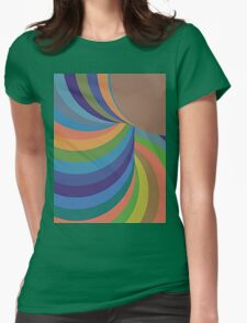 Out of nowhere Womens Fitted T-Shirt