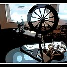 Spinning Wheel by Mechelep