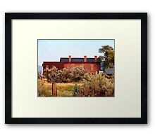 Hotel Meade 1 (Bannack, Montana, USA) Framed Print