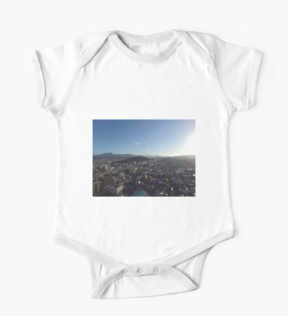 Mt. Fuji from a Drone in Shizuoka Japan One Piece - Short Sleeve