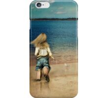 seaside holiday iPhone Case/Skin