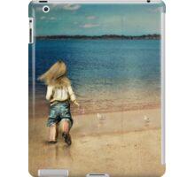 seaside holiday iPad Case/Skin
