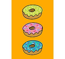 Donuts Photographic Print