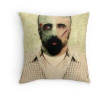 Zombie Want Brainz Throw Pillow