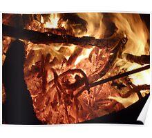 hot coals Poster