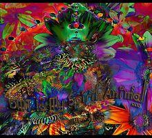 DMT Is My Spirit Animal by gimpchrist