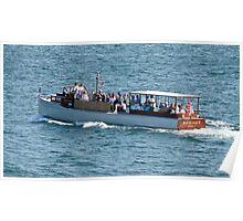 The Rum Runner Cruising Up Narragansett Bay Poster