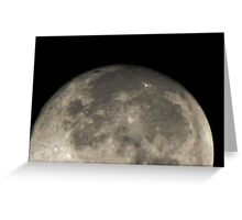 Moonscape (4891) Greeting Card