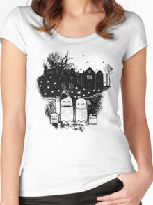 Family Portrait Women's Fitted Scoop T-Shirt