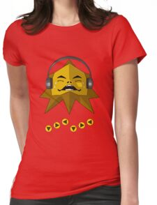 Hot Goron Beats Womens Fitted T-Shirt