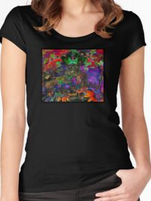 DMT Is My Spirit Animal Women's Fitted Scoop T-Shirt