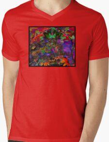 DMT Is My Spirit Animal Mens V-Neck T-Shirt