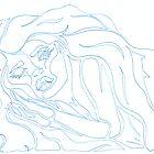 'Irisation ~ The Blueprints' Pieces Art™ by Kayla Napua Kong