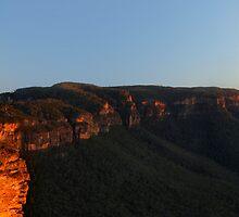 Boar's Head Rock, Narrowneck, NSW. by Andy Newman