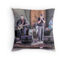 Young Neal And The Vipers Throw Pillow