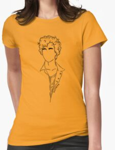 Captain Invincible: Nathan Womens Fitted T-Shirt