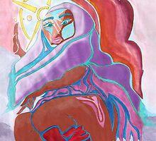 'Warrior Queen' Original Pieces Art™ by Kayla Napua Kong