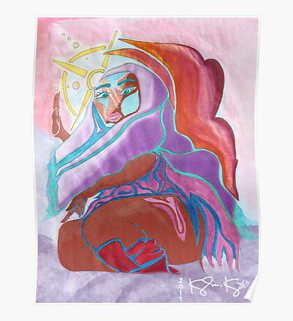'Warrior Queen' Original Pieces Art™ Poster