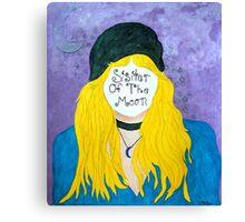 Intense Silence Canvas Print