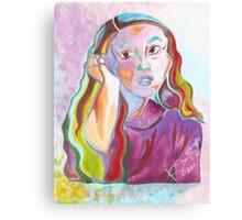'Mariko' ~ Original Pieces Art™ Canvas Print