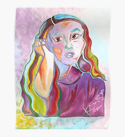 'Mariko' ~ Original Pieces Art™ Poster