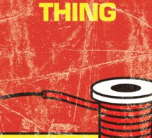 The Thing, Novelised Sticker