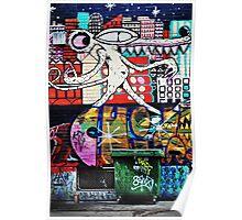 Street Art of Melbourne 1 Poster