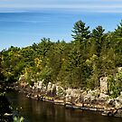 St. Croix  River View by KBritt