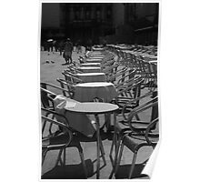 Empty Chairs Poster