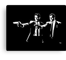 True Detective Pulp Fiction Canvas Print