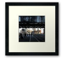 Stranger than fiction - Amsterdam CS Framed Print
