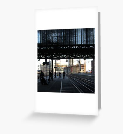 Stranger than fiction - Amsterdam CS Greeting Card