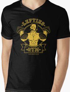 LEFTIES GYM Mens V-Neck T-Shirt