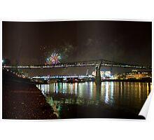 Thames Fireworks Poster