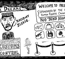 Dark Dream - Welcome to Palestine by bubbleicious
