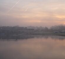 Dawn over Dorney Lake by MarcW