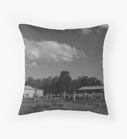 Eddington Farmyard Throw Pillow