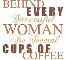 Woman Coffee Humor by thepixelgarden