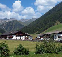 Schmirntal Valley, Austrian Tyrol by saxonfenken