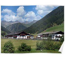 Schmirntal Valley, Austrian Tyrol Poster