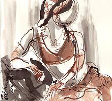tribal dancer I by Zoë MacTaggart