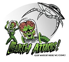 Earth Attacks! Photographic Print